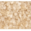 Rectangle Beads 5X2.6mm Square Hole Light Gold Luster Matte